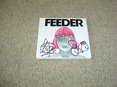 Feeder - Tallulah - Hand Signed - Cd Album - Deluxe Hardcover Book Edition - New