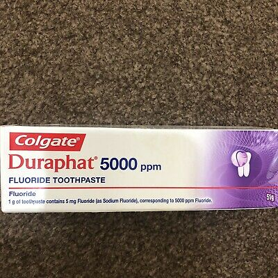 COLGATE DURAPHAT 5000ppm 51g FLUORIDE TOOTHPASTE New Sealed Box