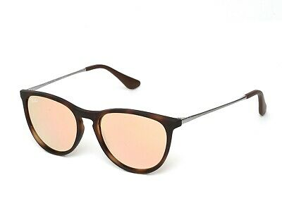 Ray Ban RB9060S  Izzy Tortoise Gunmetal Copper Mirror Sunglasses 1346