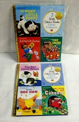 Kohl's Cares- Little Golden Books Classic Collection - Lot Of 2 Books (6 Titles)