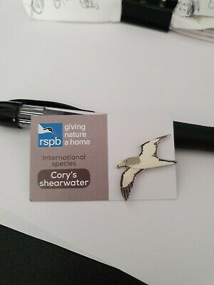 RSPB International Species Cory's Shearwater   pin badge