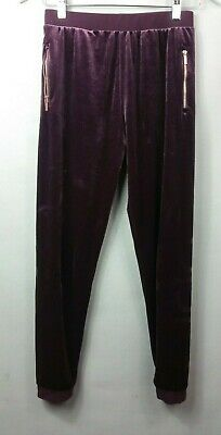 USA Pro GIRLS Velour Purple Joggers 13 years Tracksuits Bottoms Trousers Pants