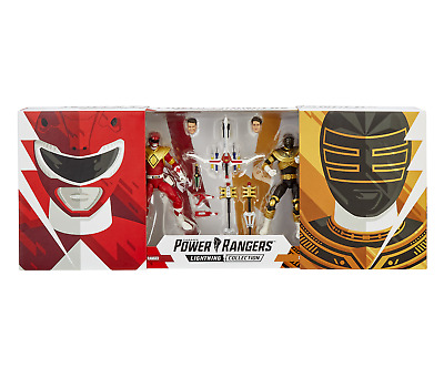 Power Rangers Lightning Collection MM Red and Zeo Gold Ranger 2-Pk *SDCC*
