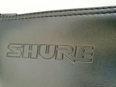 Shure SM58 microphone soft zip-up case