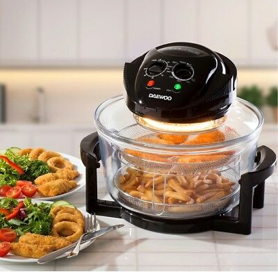 ( Halogen Oven Air Fryer Low Fat Healthy Cook 12L Capacity 1300W * Brand New •