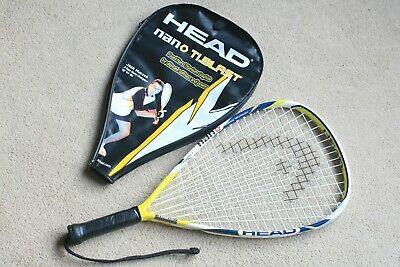 """HEAD - NANO TI BLAST"" Racketball Racket & Cover (Used Once)"