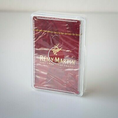 Rare Remy Martin Fine Champagne Cognac Playing Cards - Sealed, Plastic Box