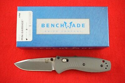 Benchmade 585-2 Mini Barrage G-10 Handle Cpm-S30V Spring Assist Knife New In Box