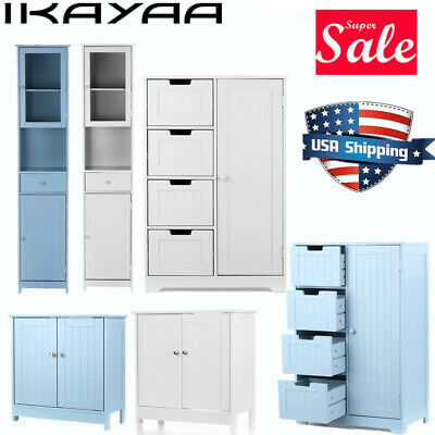 iKayaa Modern Tower Tall Storage Cabinet with Doors /& Drawer Home Furniture K4Q8