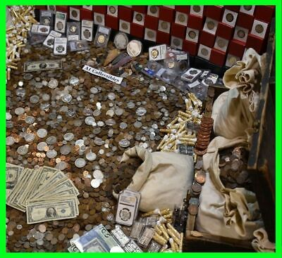 🇺🇸 Us Old Estate Sale Gold .999 Silver Bullion Pcgs Coins Money Mixed Lot 🇺🇸