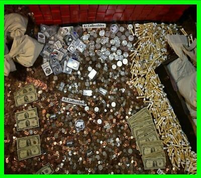 💰Us Federal Currency Liquidation Estate Sale Silver Gold Rare Coins Paper Money