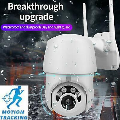 Motion Tracking WiFi PTZ Speed Dome CCTV Camera 1080P Full HD Security IP IR New