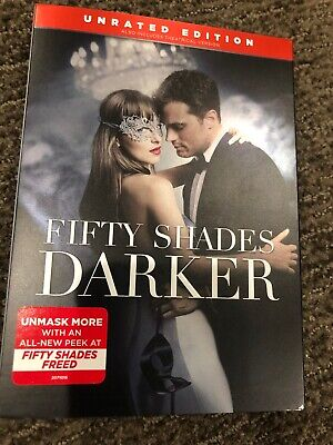 Fifty Shades Darker DVD Romance Dakota Johnson Edition 2017 Unrated Bonus Featur