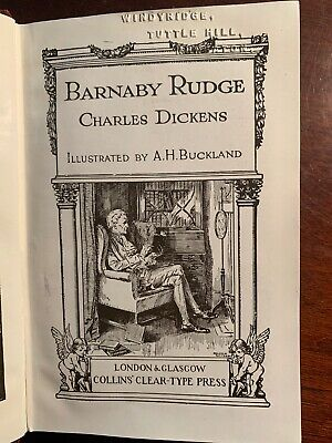 Barnaby Rudge Charles Dickens Collins Edition