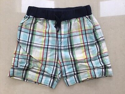 Baby Boys Blue Checked Shorts 9-12 Months from Blue Zoo