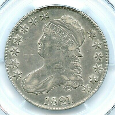 1821 Capped Bust Half Dollar, PCGS XF45