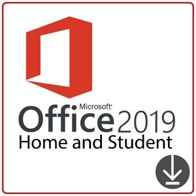 MS office 2019 home and student OEM key + download link lifetime activaton