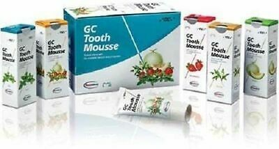 Pack of 10 Tubes Dental GC Tooth Mousse 40g Tube