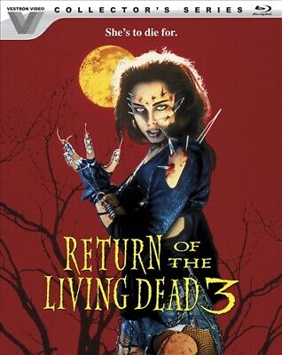 RETURN OF THE LIVING DEAD 3 New Sealed Blu-ray Vestron Video Collector's Series