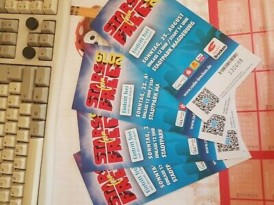 4 Tickets stars for free magdeburg