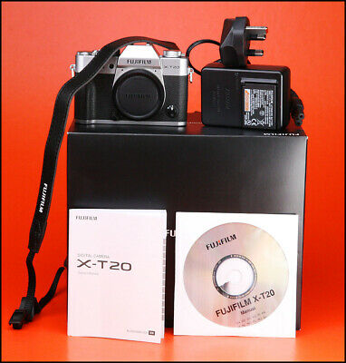 Fuji X-T20 Fujifilm Mirrorless Camera,With Battery, Charger & Box ONLY 55 Shots