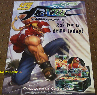 The King Of Fighters Xiii Poster Jasco Games Ufs Ccg Universal Fighting System Z