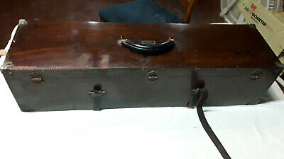Antique Doctor's Travel Case Laryngoscope Endoscopy Pillman & Son Laryngeal Kit