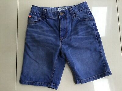 Boys Denim Blue Shorts from Next Size 12 Years