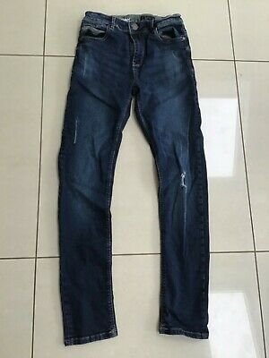 Boys Blue Denim Jeans Skinny Style Size 13 Years from Next