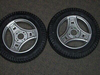 Permobil M300 Drive Wheels With Powertrax PR1MO Airless tires Set of 2