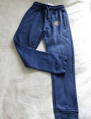 Brand New NEXT Boys Dark Blue Jogging Bottoms/Trousers, Size 9 years