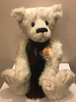 Charlie Bear 2010🐑Collectable WOOLLEY PULLEY🐑Loves Awesome Bear HUGS!🎭