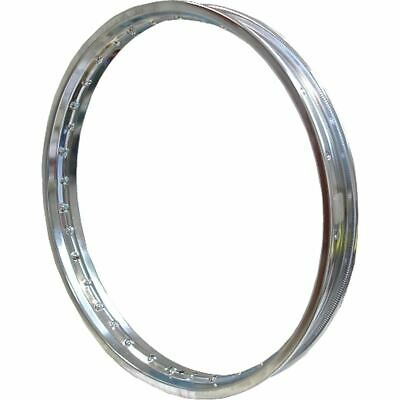 "Chromed Steel Rim 1.40 x 17"" for 36 Spokes"