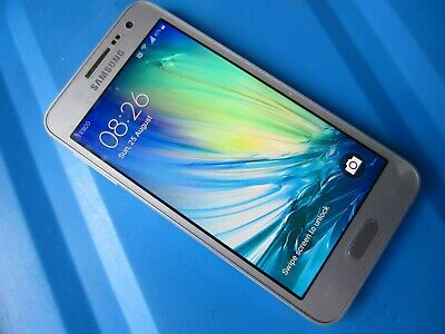 Samsung A3 SM-A300FU 16GB Android 6 Smartphone VGC O2 Tesco Fast Free Delivery