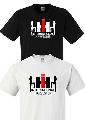 Case International Harvester Unisex 1/2-3Xl T-Shirt Tractor Farming Agriculture
