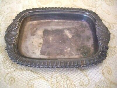 Vintage Garrard & Co Ltd Silver On Copper Regent Plate small ashtray