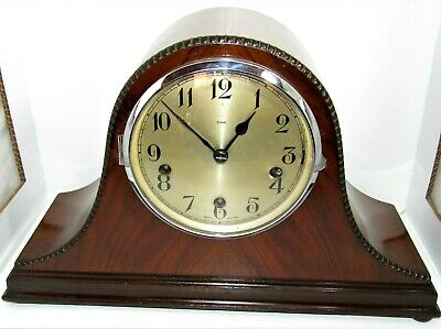 Nice Larger 1930's Enfield Westminster Chiming Mantle Clock To Restore