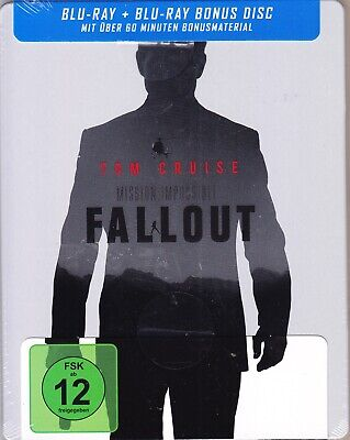 2 Blu-Ray @ Mission Impossible Fallout @ German Limited Steelbook @ New @ Sealed