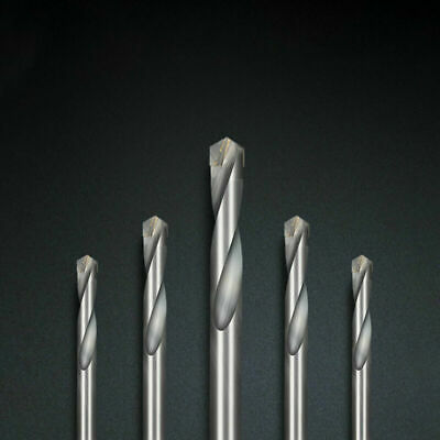 Tungsten CarbidemTip End Mills Drill 10pcs For Stainless Steel Iron Cutting New