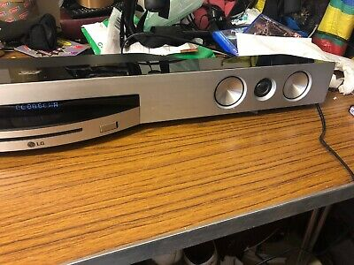LG BB5521A SOUNDBAR with Built in Blu-Ray Player Spare Or Repair