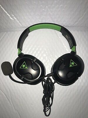 Turtle Beach Ear Force Recon Stereo Gaming Headset Headphones Xbox One Black