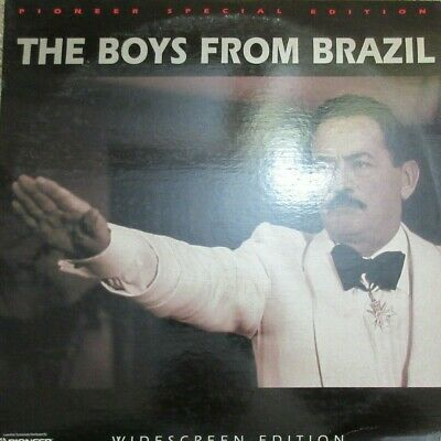 The Boys from Brazil WS Pioneer Special Edition 1997 Laser Disc Movie