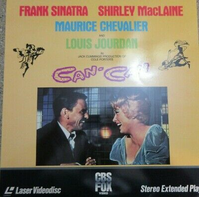 Can - Can  1989 Laser Disc Movie : Frank Sinatra / Shirley MacLaine
