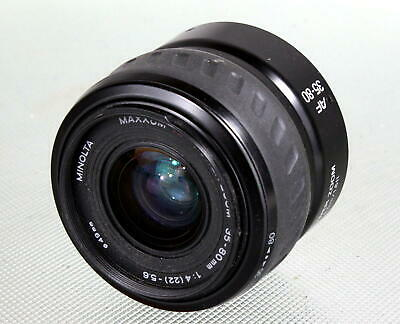 Attractive Minolta Maxxum AF Power Zoom 35-80mm Lens Looks and Works Great