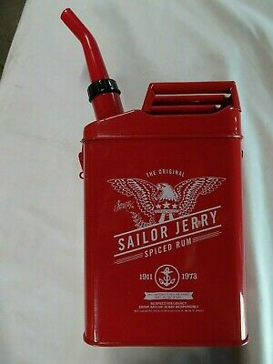 QTY 1 Sailor Jerry Gas Can Rum Table Tent Advertising Collectors Piece