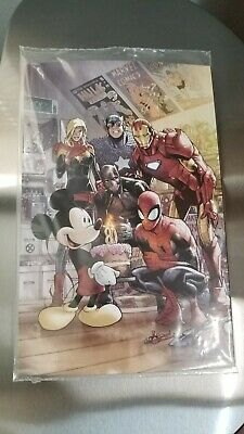 D23 Expo 2019 Marvel Comics 1000 80 Mickey Mouse Ramos Variant Cover Disney