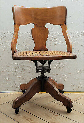 Superb Milwaukee Chair Co Swivel Chair Early 1900S 250 00 Picclick Caraccident5 Cool Chair Designs And Ideas Caraccident5Info