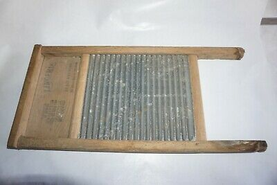 The Zinc King Lingerie Washboard National Washboard Co. No. 703