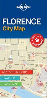 Lonely Planet Florence City Map by Lonely Planet 9781786575036 | Brand New