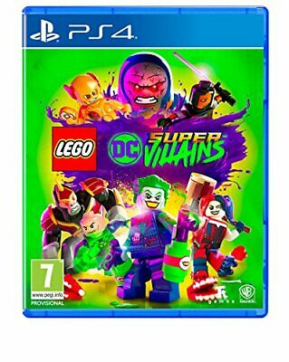 LEGO DC Super-Villains (PS4) - Game  62VG The Cheap Fast Free Post